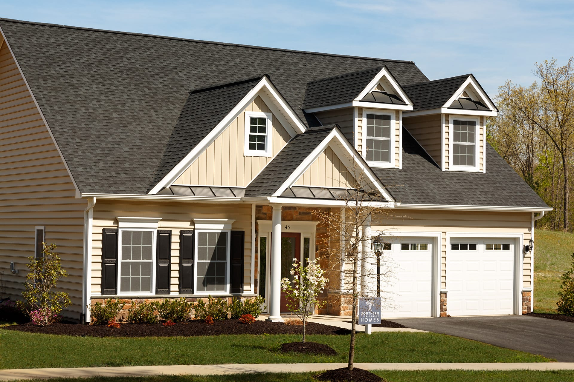 The savannah southern development homes for Savannah style house plans